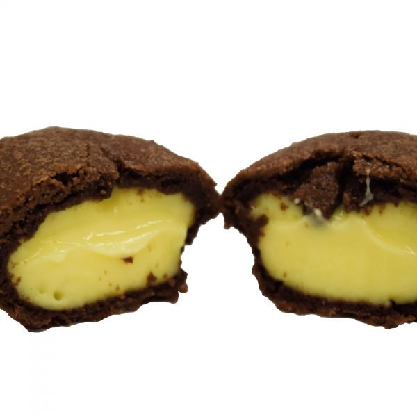 pasticciotto al cacao con crema